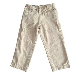 ☘️3/$30 ☘️ OLD NAVY Tan Adjustable Waist Pants 4T